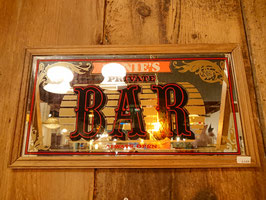 Vintage ERNIE'S BAR パブミラー  【MAR-1459】