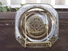 Fedelal プレート ディプレッショングラス 【Mar-1493】