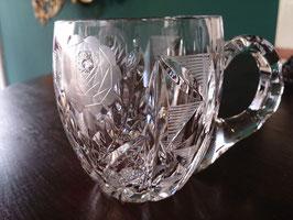 Vintage カッティングクリスタルティーカップ  【MAR-0147】