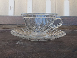 Fostria  Cup & Soucer 【Mar-1790】