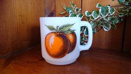 商品名Vintage グラスベイクマグ オレンジ  【MAR-1017】