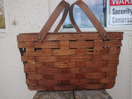 Vintage ピクニックバスケット 【Mar-1627】