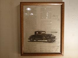1929's クライスラー広告 【Mar-1827】