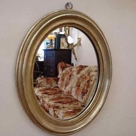 Vintage ウォール ミラー オーバル 【Mar-1309】
