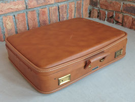 Vintage Trunk / Suitcase Wheary 【Mar-1856】