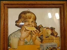 vintage Butter Nut Bread サイン  【Mar-1228】