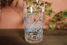 Vintage  フリントストーン グラス【Mar-1436】