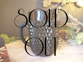 SOLD OUT Indiana Glass Diamond Point Pitcher  【Mar-1327】