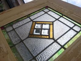 アンティーク ステンドガラス ドア ホワイト  【MAR-0946】