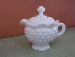 Vintageフェントン ミルクグラス クリーマー  【MAR-0434】