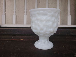 E.O.BRODY ミルクガラス フラワーベース・ポット 【Mar-1762】
