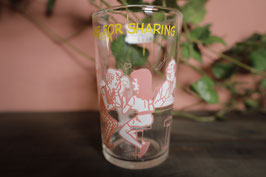 Vintage USA アーチーズコッミクシリーズ  グラス【Mar-1431】