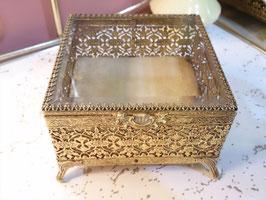 Vintage ジュエリーBOX  【MAR-0255】