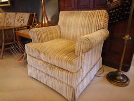 Vintage 1P Sofa 60's~70's 【Mar-1289】