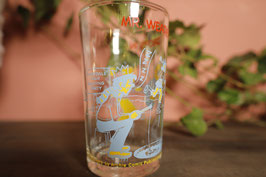 Vintage USA アーチーズコッミクシリーズ  グラス【Mar-1430】