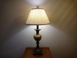 Vintage ウッド テーブルランプ 【MAR-0665】