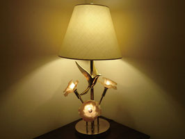 Vintage アイアン テーブルランプ 3灯  【MAR-0048】