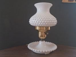 Vintage ミルクグラス テーブルランプ  【MAR-0873】