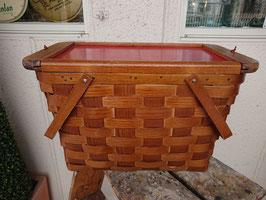 Vintage UAS ピクニックバスケット 【Mar-1576】