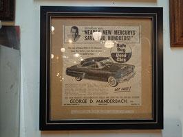 1953s Ford マーキュリー・クーペ 【Mar-1773】