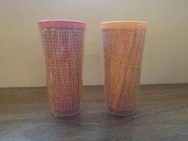Vintage プラスチック カップ 2p SET【MAR-0941】