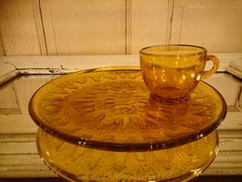 Vintage インディアナグラス スナックセット 【MAR-1119】