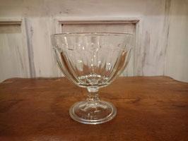 Vintage ガラス コンポート  【MAR-0666】