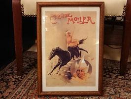 Vintage Cirque Molier ポスター 【Mar-1810】