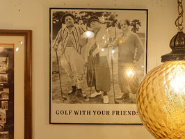 Vintage GOLF WITH YOUR FRIENDS 【MAR-1461】