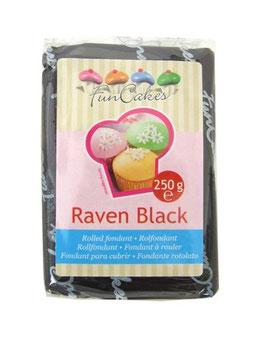 Pâte à sucre noire