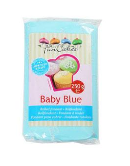 Pâte à sucre baby blue