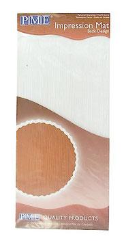 Tapis texturé effet bois