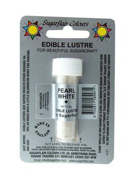 Colorant alimentaire poudre irisé perle blanche (pearl white)