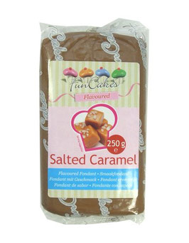 Pâte à sucre caramel au beurre salé