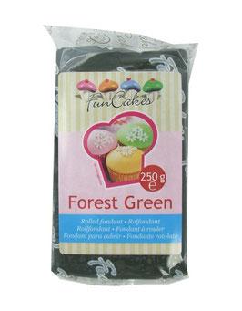 Pâte à sucre forest green