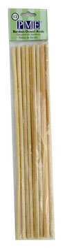 12 tiges en bois 30 cm