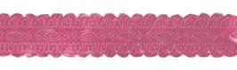 Ruban papier rose effet dentelle