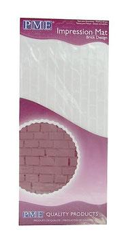Tapis texturé effet briques