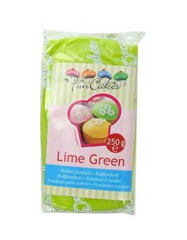 Pâte à sucre vert citron