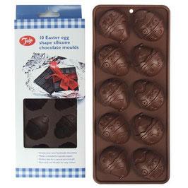 Moule 10 oeufs en chocolat