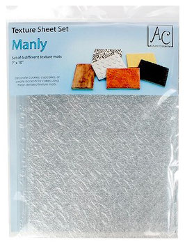 Set de 6 tapis impression Manly AC