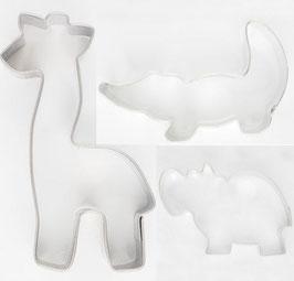 Emporte-pièces animaux sauvages
