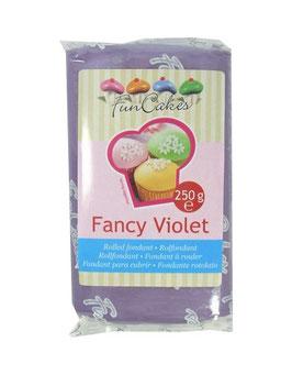 Pâte à sucre violet clair