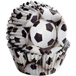 Caissettes ballons de foot
