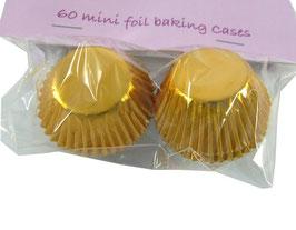 Caissettes métallisées pour chocolat or
