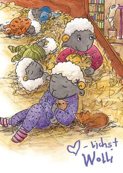 Wolli Postkarten