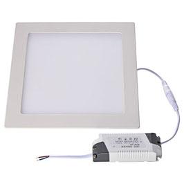 Pannello LED 18W da Incasso Foro 200x200mm Quadrato
