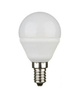 E14 Lampadina Led 4W  - Essential- Policarbonato e Alluminio
