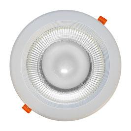 Faro da incasso LED 30W -  foro incasso Ø200mm -per interni