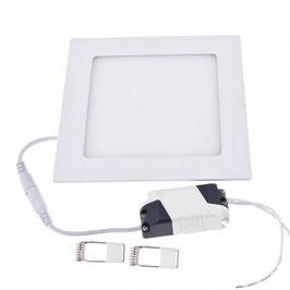 Pannello LED 12W da Incasso Foro 150x150mm Quadrato